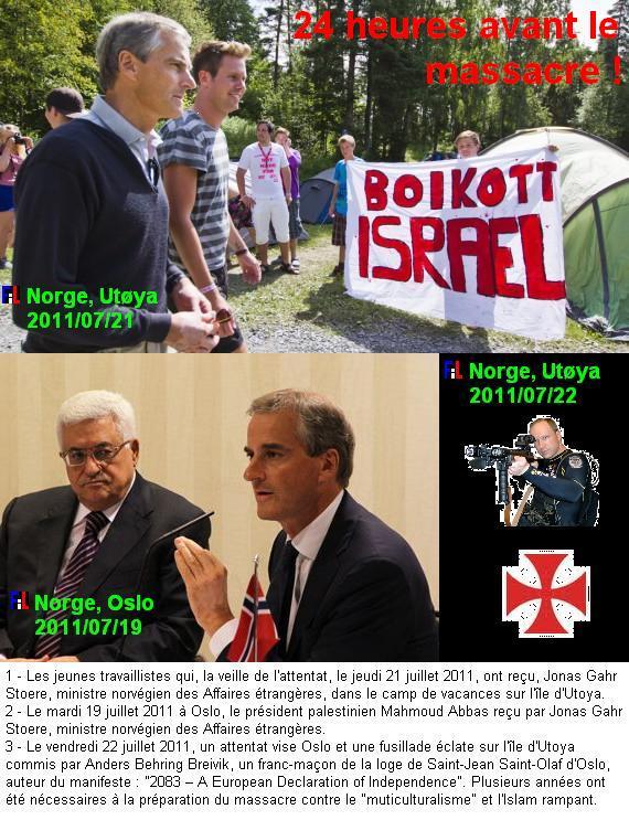 NORVEGE - ATTENTATS DU 22 JUILLET 2011 - Des roses - symboles des jeunes socialistes pris pour cible - contre la haine