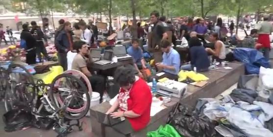 Occupation de la place de la Liberté, New York, Liberty Plaza, Occupy Wall Street