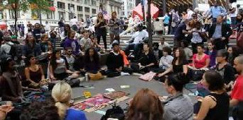 Méditations des membres Occupy Wall Street